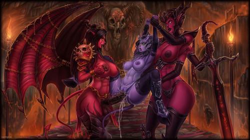 Vempire [stockings,big tits,world of warcraft]