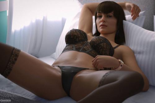 Chase81 [cyberpunk,lingerie,pinups]