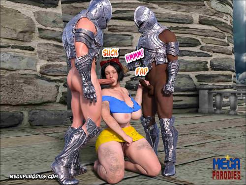 MegaParodies Collection [spider woman,batman,fantasy]