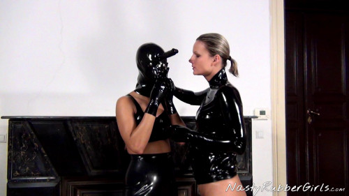 Wonderfull Perfect Nice Collection Of Natsy Rubber Girls. Part 3. [2020,BDSM Latex]