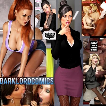 DarkLord - Art and Comics [All sex,Interracial,3DCG]