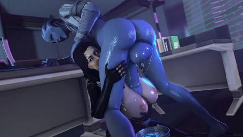Miranda Lawson part 3 Futanari [2021]