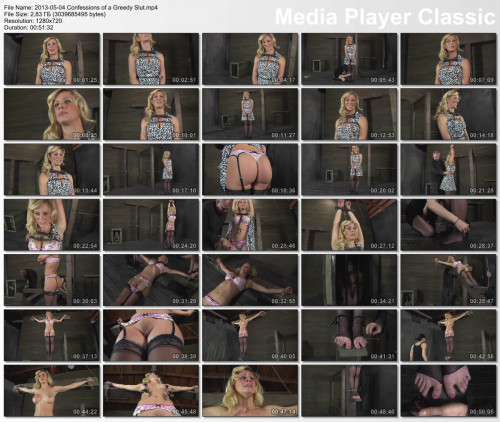 Confessions of a Greedy Slut , Cherie DeVille , HD 720p