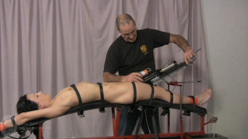 Fucking Machine part 2 [2013,BDSM,HouseOfGord,Suspension,Fucking Machine,Compression]