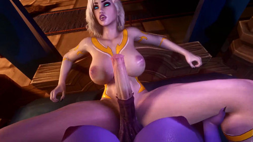 Draenei Love [2021,3D,All sex]