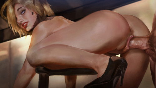 Firolian Porn Comics: Ashe in Hospital 2018 [2018,Oral,Cum Dumpster,Overwatch]