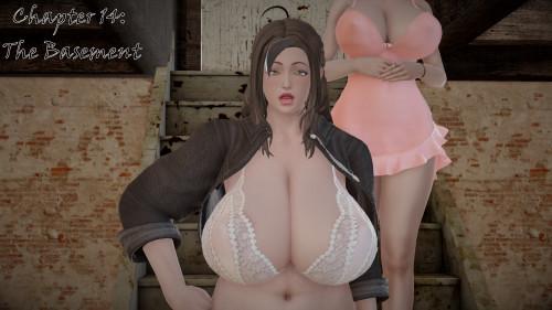 FarhadTG - Franky's Adventure (ongoing) [big breasts,stockings,teacher]