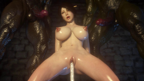 Secret of Beauty Part 4 [2018,Huge Cock,Anal,Animation]