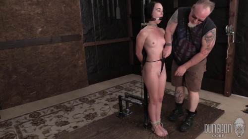 DungeonCorp - Bambi Black - The Helplessness of the Ropes [BDSM,DungeonCorp / SocietySM,Bambi Black,Teen,BDSM,Shaved]
