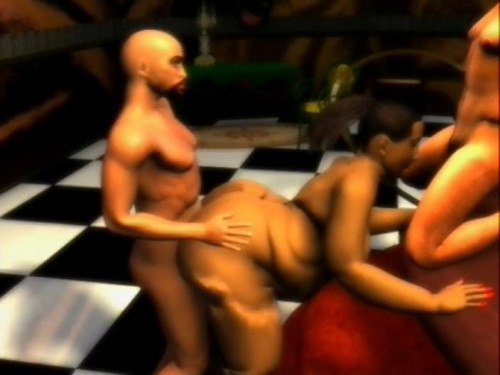 Two Funky For You [2018,Animation,Huge Cock,Femdom]