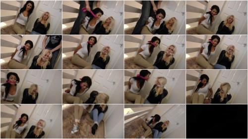 Olivia & Karlie bondage