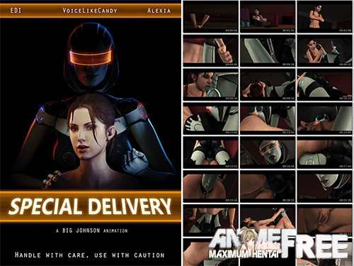 Special Delivery [2020,3D Animation,Mass Effect,Oral]