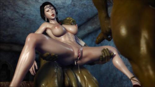 Secret of Beauty [2019,3D Porno,Girls,Street Fighter,3D animation,momiji]