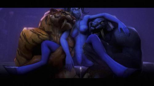 Arena of Depravity - Coliseum of Lust [Double Penetration,Straight,Blowjob]