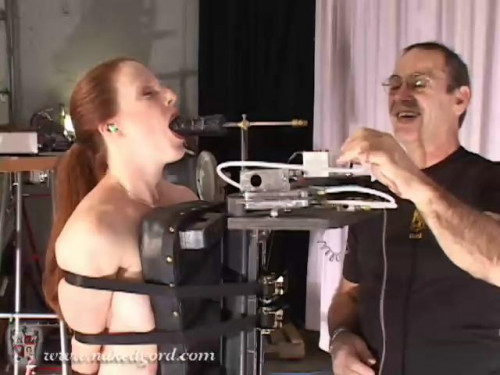 Lydia on the Blow Suck Machine [BDSM]