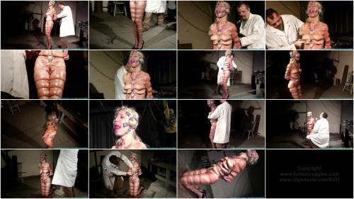 Clear Strap Hogtie For Amanda Foxx - Part 2 - HD 720p