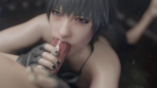 Lady tongue bath [2021,All sex,3D]