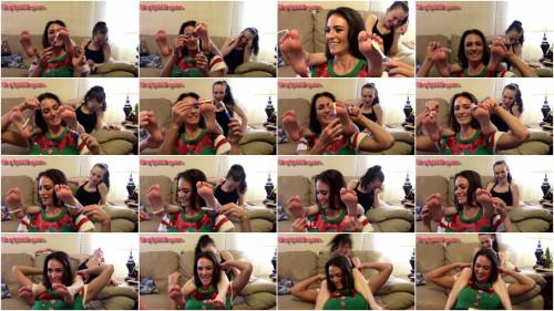 HD Bdsm Sex Videos Savannah the Elf receives Tickle Revenge on Kalesies Barefeet