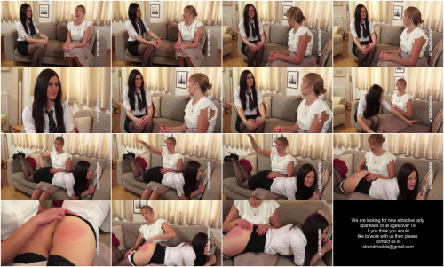 Remingtonsteel - Chloe is a young lady who genuinely loves to be spanked