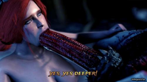 Secret desires of Triss