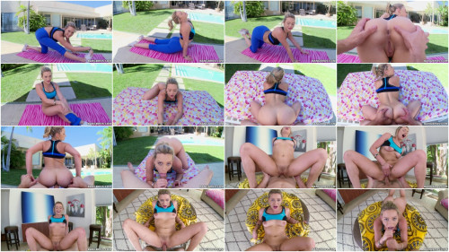 Mia Malkova - Pornstar does yoga before bouncing her big ass on cock