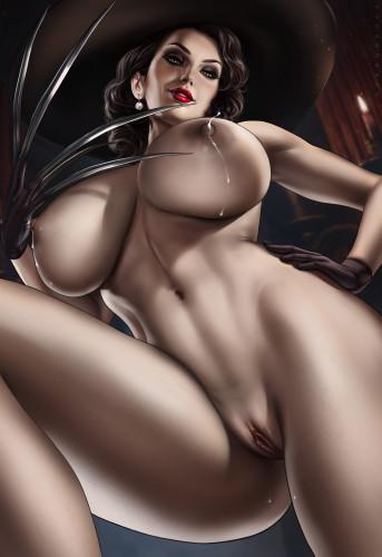 Dandon Fuga Art 2021 [Big tits,Striptease,Monster]