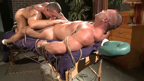 Musclebound - Muscle Play Part 3 - Trace Michaels & Adam Rogue