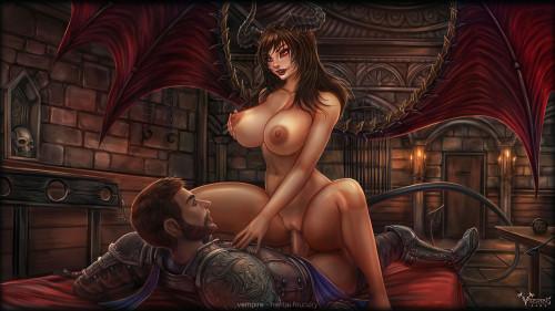 Vempire [stockings,world of warcraft,Porn Comics]