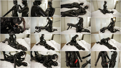 Bondage, domination and torture for hot models in latex part 2