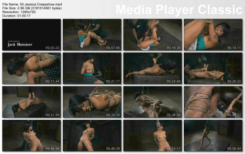 Jessica Creepshow In Hard Action