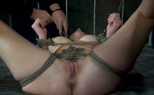 Chanel Preston helpless Brutally deep throated, severe rope bondage, fucked, made to cum hard
