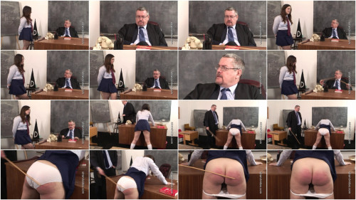 English-spankers - (spr-556) - Teachers pet caned