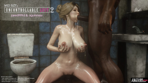 Jared999D - Wild Suzi's Uncontrollable Lust Part 1-3 [jared999d,monsters,big black dick]