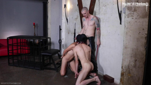 Opened And Abused Part 1, 2 and 3 [2019,Gay BDSM,AJ Alexander]