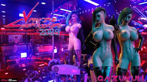 Gazukull - Vampire Cyberhookers 2069 [Blowjob,Cumshot,DAP]