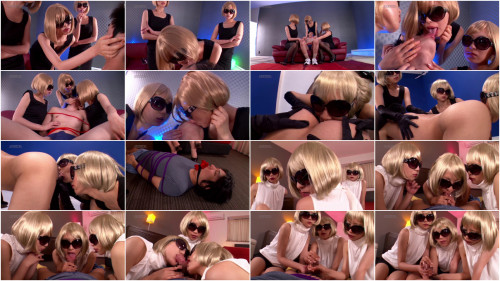 Cool Slut Group With Blonde Short Hair