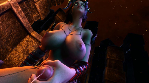 Demon Titty Fuck [2020,3D,All sex]