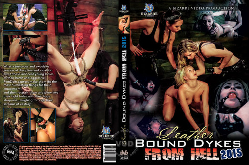 Leather Bound Dykes From Hell 2015 [2015,BDSM,Abbi Roads,Toys,Big Boobs,Strap-On]