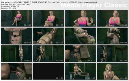 Courtney Taylor bound hard , HD 720p