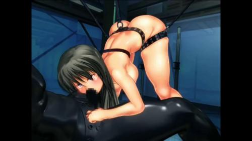 Machinery assault to the beloved maidens 4 [2016,Successive Orgasms Anime Collar/Chain/Hamper Uniform Neglect Robot Sex]