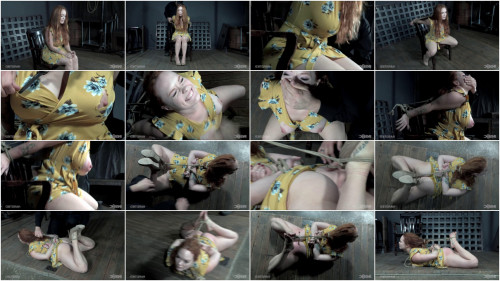 Tight tying, hog tie, strappado and suffering for hawt floozy part 1