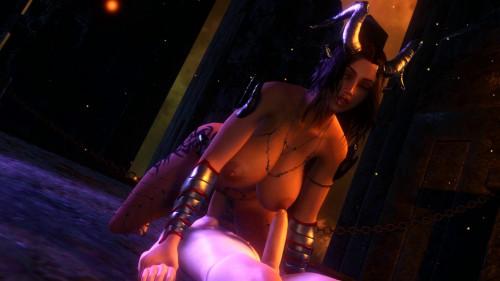 Demon Pov sex