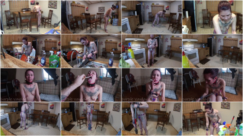 Super bondage and domination for beautiful naked model Full HD