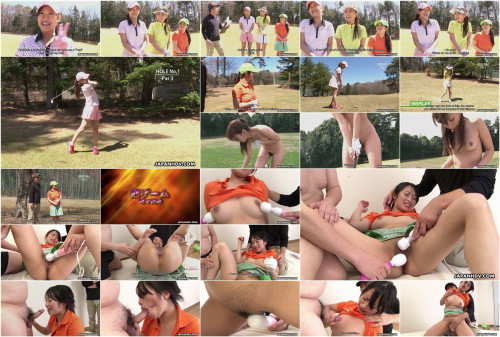 Golf loving sweetheart nana kunimi and her allies acquire used up