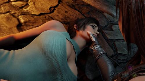Lara's Capture [2021,Final Fantasy,Cumshot,Huge Cock]