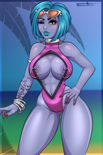 Shadowboxer [3D Porn Comic,3dcg,posing]