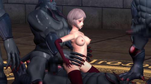 The gangbang of Dia part 2 [2019,oral,paizuri,big breast]