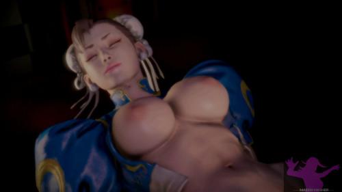 Fiftyth Chun Li [Chun-Li,Street Fighter,3DCG]