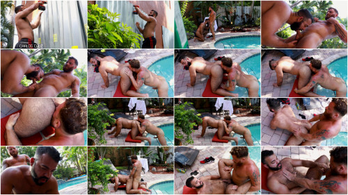 Bearback - Bearly Working Part 1 - Riley Mitchel and Carlos Cruz (1080p)