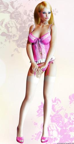 Deviantart lynxander's collection 3D [uncensored,3D Porn Comic,swimsuit]